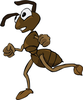 Ant Hill Clipart Image