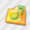 Icon Folder Music 11 Image