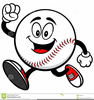Baseball Players Clipart Image