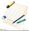Pencil And Crayon Clipart Image