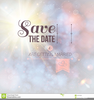 Wedding Save The Date Clipart Image