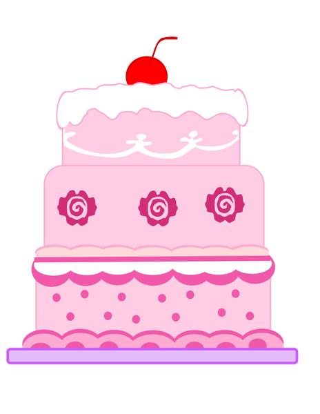 Cartoon Sponge Cake