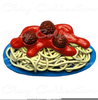 Free Clipart Of Spaghetti And Meatballs Image