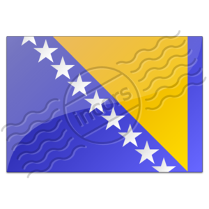 Flag Bosnia And Herzegovina 7 Image