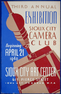 Third Annual Exhibition, Sioux City Camera Club Image
