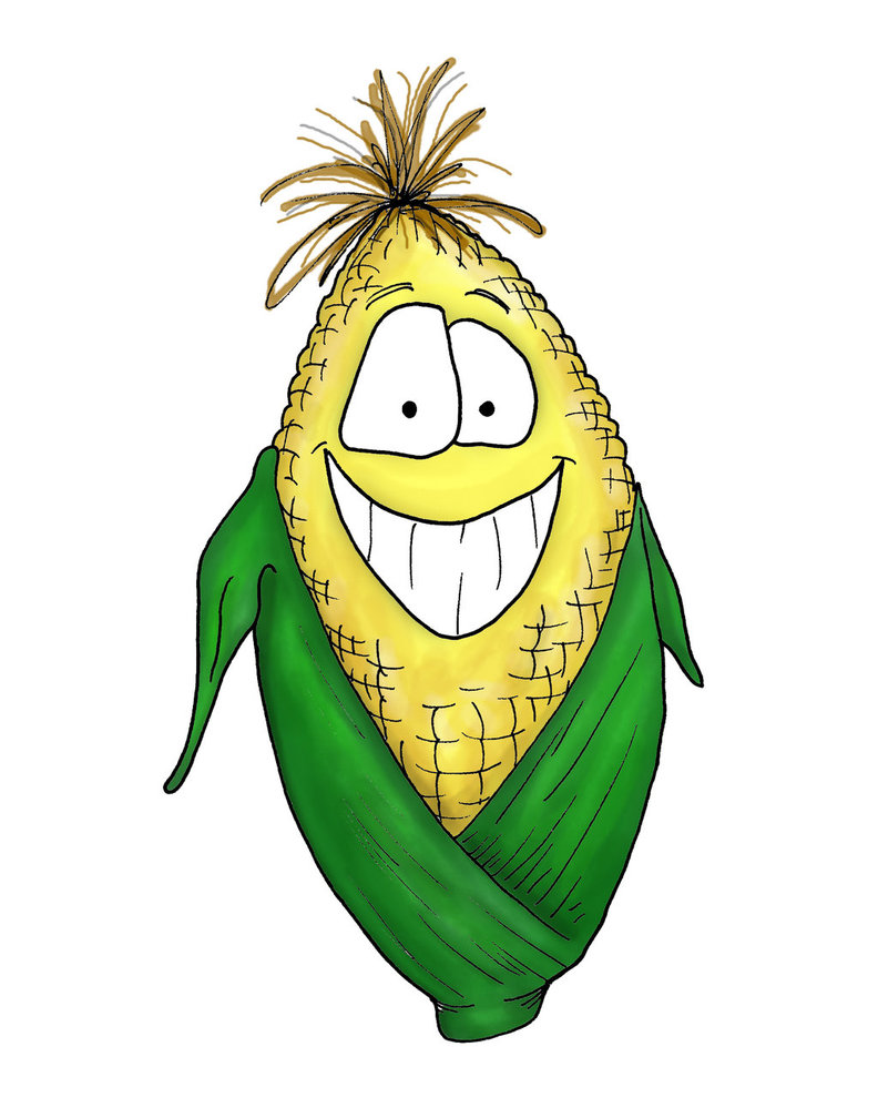 Cartoon Corn By Bnspencer D Z Cz | Free Images at Clker ... - photo#2