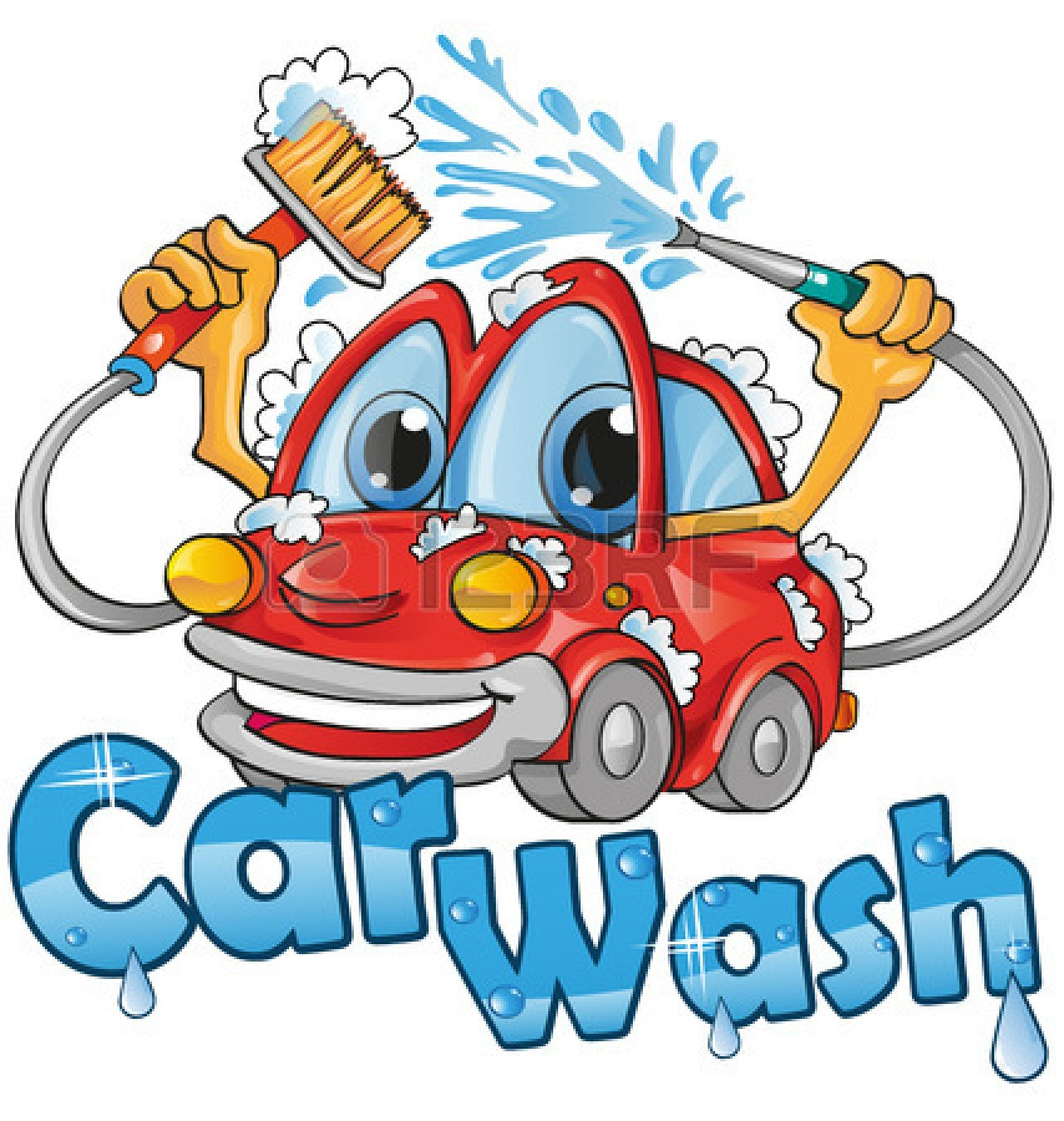 free cartoon car wash clipart - photo #2