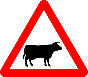 Svg Road Signs 4 Clip Art