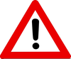 Warning Sign Pictures Clipart Image
