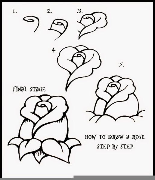 Easy Drawing Steps Free Images At Clker Com Vector Clip Art