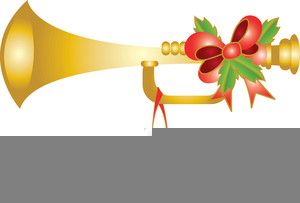 Christmas Trumpet Images.Christmas Trumpets Clipart Free Images At Clker Com