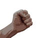 Clenched Human Fist Image