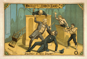 Whiteley S Original Hidden Hand Co. Image