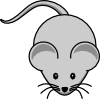 Simple Cartoon Mouse Clip Art