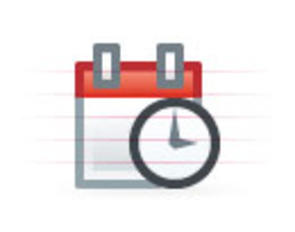 Calendar Time Clip Art : Blockie calendar time free images at clker vector
