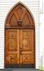 Free Clipart Of Church Doors Image