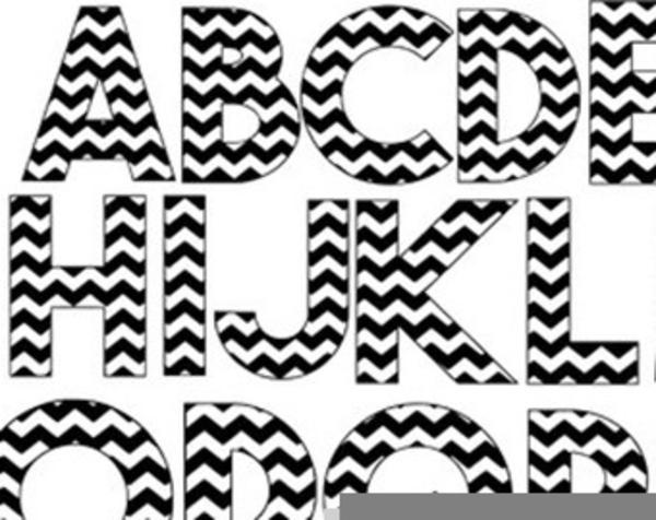 Free Downloadable Alphabet Clipart