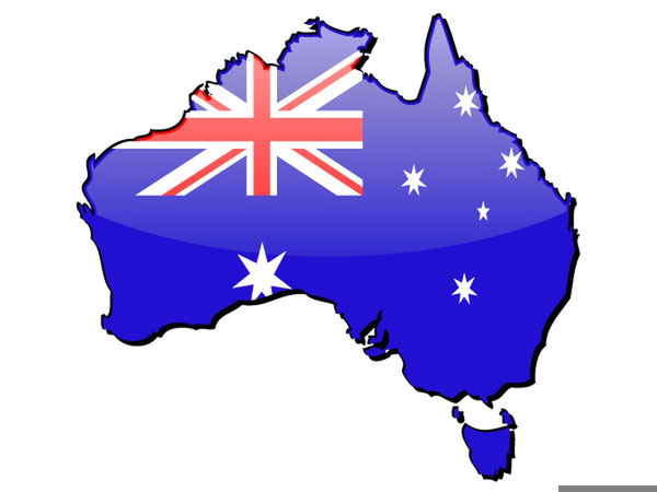 western australia map clipart free images at clker com vector rh clker com australia clipart black and white australian clip art