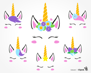 graphic relating to Printable Clip Art identified as Absolutely free Printable Unicorn Clipart Absolutely free Illustrations or photos at