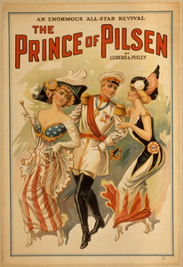 The Prince Of Pilsen By Lüders & Pixley : An Enormous All-star Revival. Image
