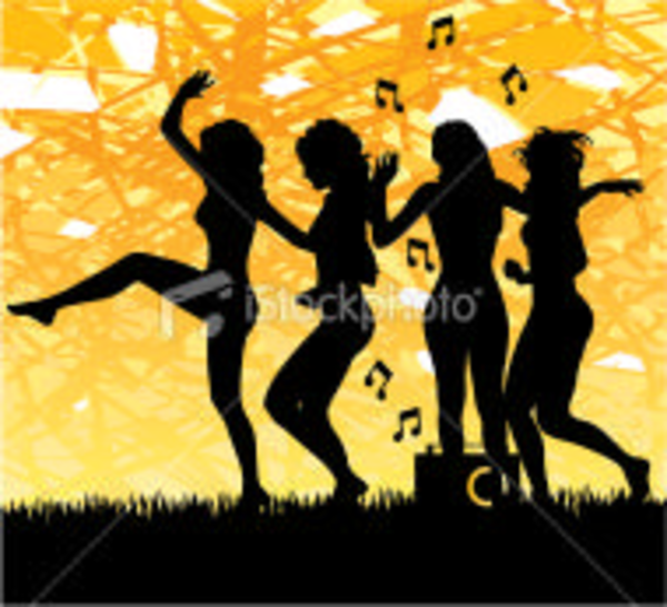 Istockphoto Silhouette Party Dancing Girls | Free Images ...