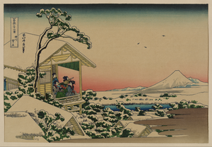 [teahouse At Koishikawa The Morning After A Snowfall] Image