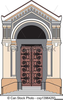 Clipart Church Door Image