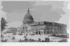 The Capitol At Washington Clip Art