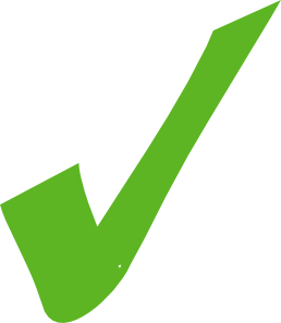 Green Check Mark Clipart