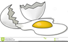 Egg Cracking Clipart Image