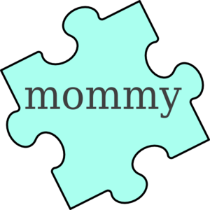 puzzle piece mommy clip art at clker com vector clip art online rh clker com mom clip art black and white mom clipart