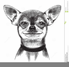 Free Clipart Of Dogs Black And White Image
