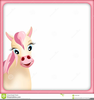 Clipart Pink Pony Image