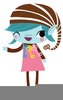 Girl Scout Elf Clipart Image