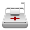 Medical Bed Icon Image