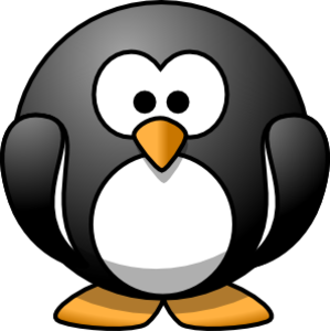 Lemmling Cartoon Penguin Svg Med Image