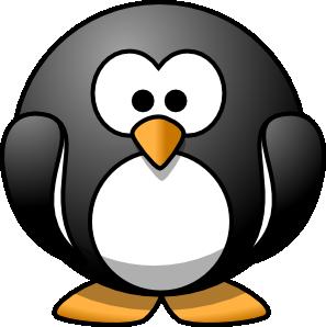 Lemmling cartoon penguin svg med image