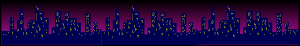 City Scape At Night Clip Art