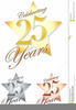 Celebrating Years Clipart Image