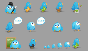 Birdies A Free Twitter Icon Set+preview.png Image