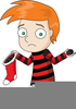 Animated Stocking Clipart Image