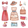 Watercolor Dresses Accessories Collection Image