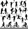 Free Clipart Of A Group Of Children Image
