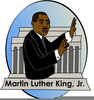 Free Clipart Martin Luther King Jr Image
