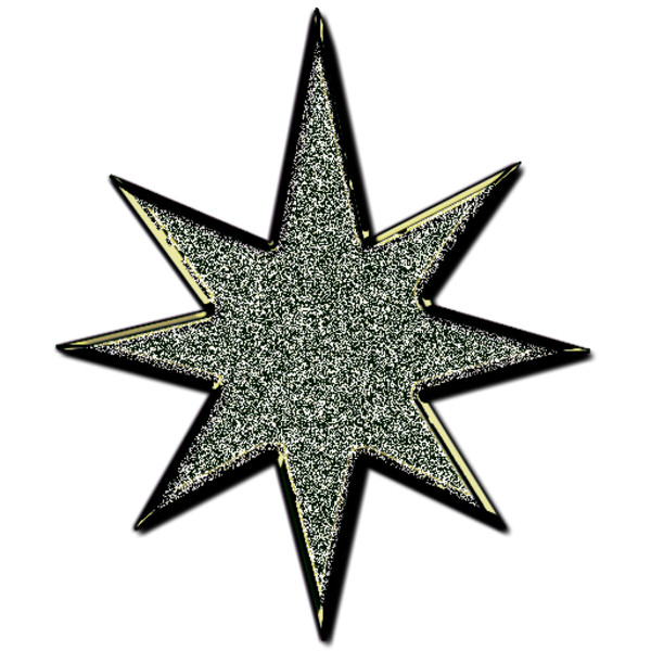 star d glitter black free images at clkercom vector
