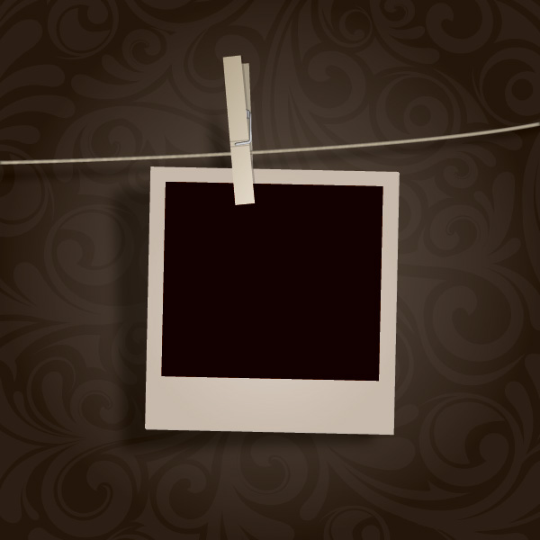 Hanging Pictures blank photo hanging 1 | free images at clker - vector clip art