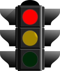 Red Traffic Light Clip Art