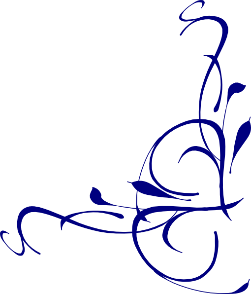 Right Floral Swirl Clip Art at Clker.com - vector clip art online, royalty free & public domain