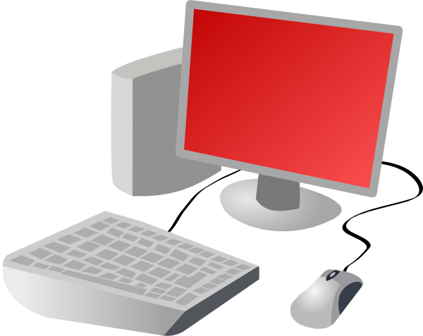 Redpc clip artInformation Technology Clipart