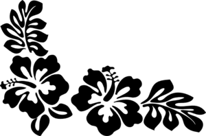 Hibiscus4 Clip Art At Clker Com Vector Clip Art Online
